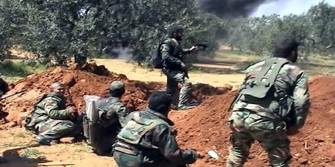 Сводка контртеррористических операций Сирийской армии за 8 февраля