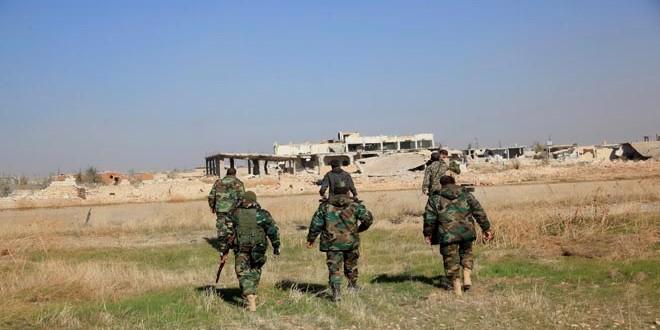 Сводка контртеррористических операций Сирийской армии за 23 февраля
