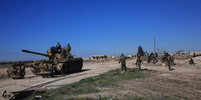 Сводка спецопераций Сирийской армии за 5 февраля