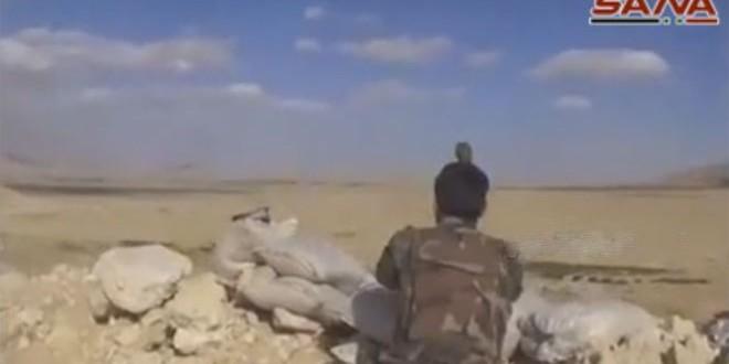 Продвижение Сирийской армии на востоке провинции Хомс. Взятие под контроль Теллет-Арин на северо-западе от города Тадмор