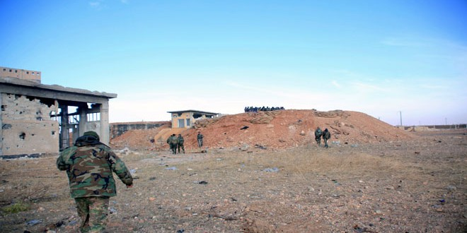 Сводка контртеррористических операций Сирийской армии за 16 марта