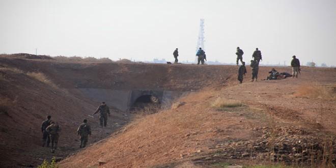 Сводка контртеррористических операций Сирийской армии за 31 марта