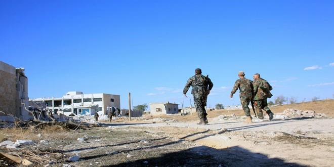Сводка контртеррористических операций Сирийской армии за 13 апреля
