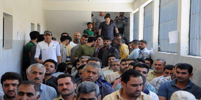 В провинции Хомс урегулирован статус 105 человек