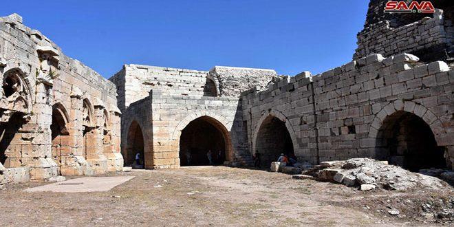 В Калаат Аль-Хосн усилиями совместной сирийско-венгерской археологической миссии начаты реставрационные работы