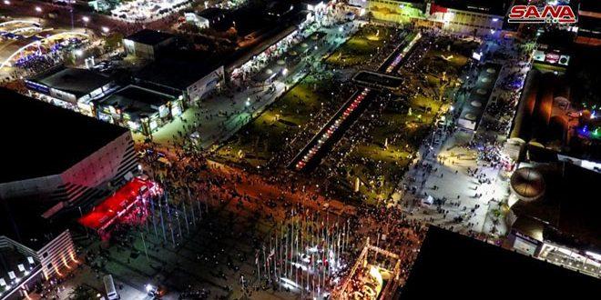 В седьмой день работы Дамасской выставки число посетителей достигло 137 тысяч