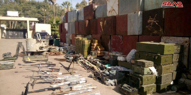 В провинции Дараа обнаружены ракеты израильского и американского производства