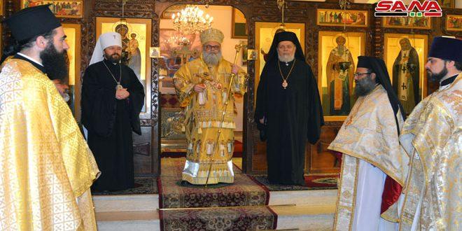 Патриарх Языджи: Трубные дни миновали, сегодня Сирия едина