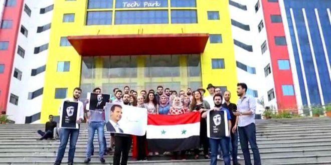 Сирийские студенты в Индии подтвердили верность Родине в её борьбе с терроризмом