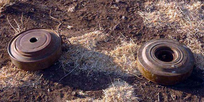 В провинции Хама при взрыве оставленной террористами мины погибли два человека