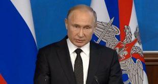 Путин: Большая часть территории Сирии освобождена от терроризма