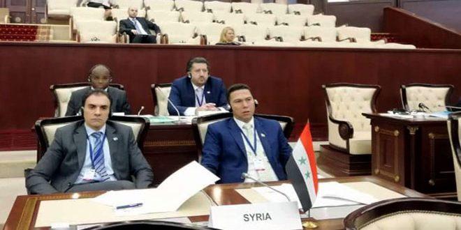 Сирия принимает участие в 5-й Глобальной конференции молодых парламентариев Межпарламентского союза