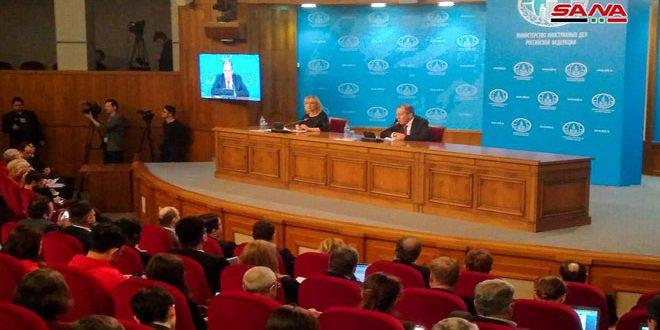 Лавров: В Сирии международный терроризм потерпел поражение