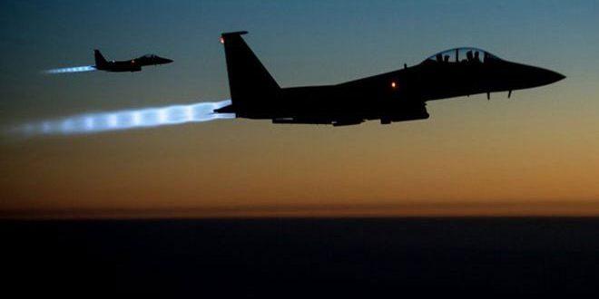 В провинции Дейр-эз-Зор авиация коалиции США атаковала автоколонну с мирными гражданами