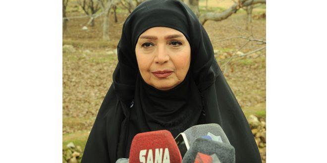 Фадия Хаттаб сыграла главную роль в многосерийной драме «Старые улицы Дамаска»