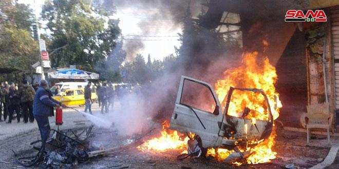 В Латакии взорвался автомобиль, погиб один человек, 14 ранены