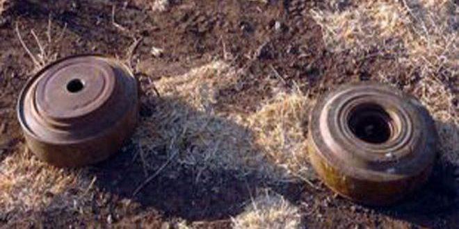 В провинции Хасаке при взрыве мины, оставленной террористами, 3 человека получили ранения