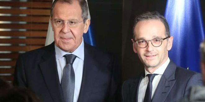 Главы МИД России и Германии обсудили процесс политического урегулирования кризиса в Сирии