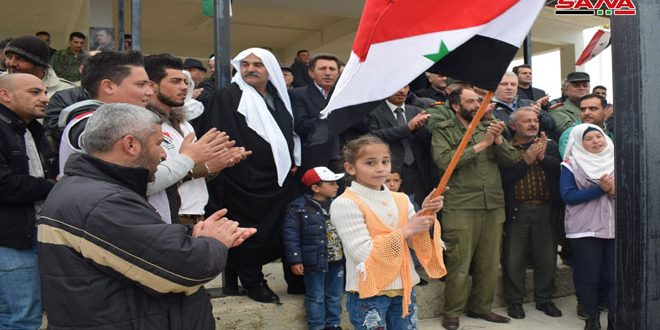 В провинции Кунейтра демонстранты подтвердили право Сирии на возвращение оккупированных Голан