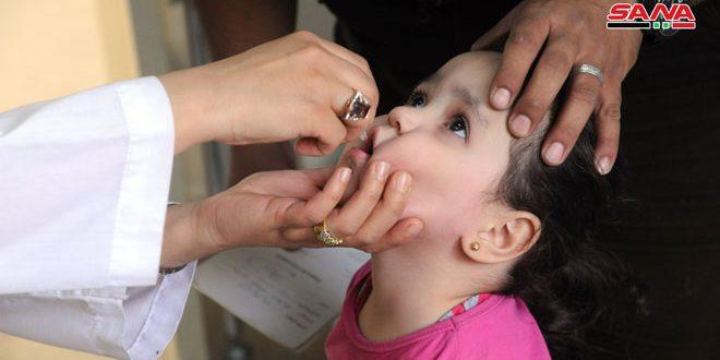 В Сирии стартовала кампания по иммунизации детей в возрасте до пяти лет