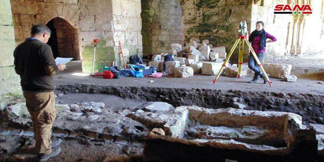 Совместная сирийско-венгерская миссия продолжает работать в крепости Аль-Хосн
