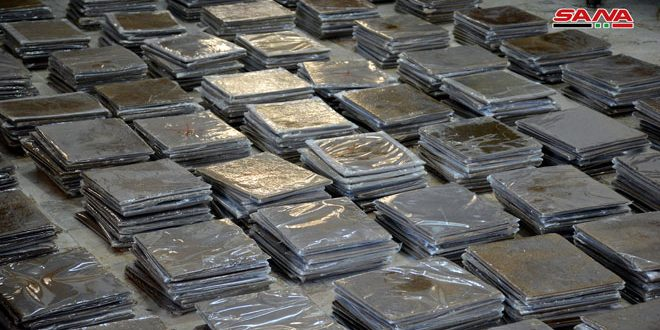 В провинции Латакия изъято 518 кг гашиша, предназначенного для транзита через Сирию