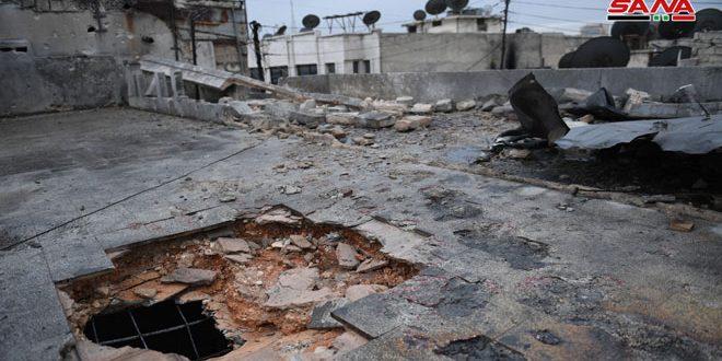В Алеппо из-за террористического обстрела пострадали 6 человек