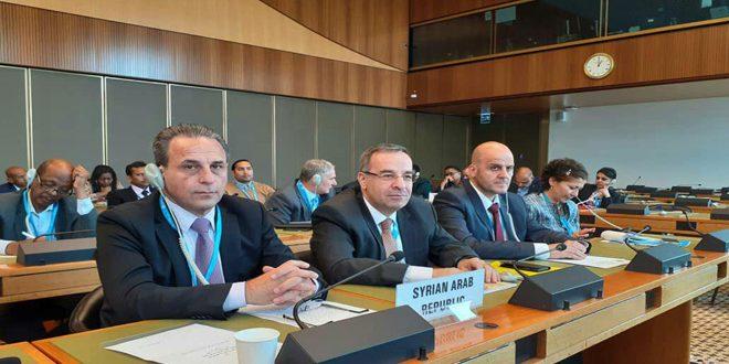 Делегация САР принимает участие в 72-й сессии Всемирной ассамблеи здравоохранения в Женеве