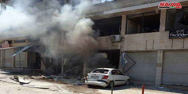 Террористические бандформирования возобновили атаки на город Скейльбия