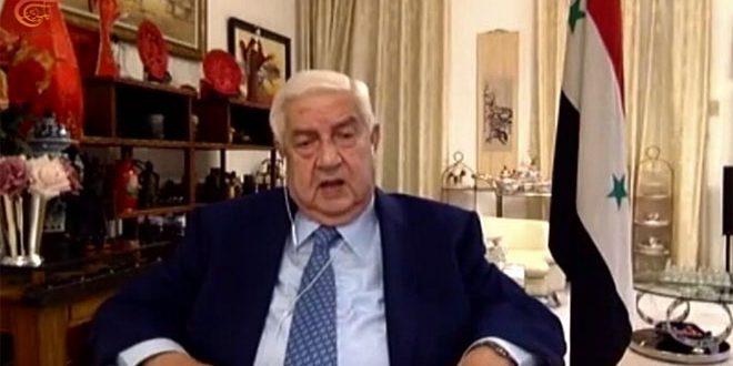 Аль-Муаллем: Освобождение всей сирийской территории от терроризма неизбежно приближается