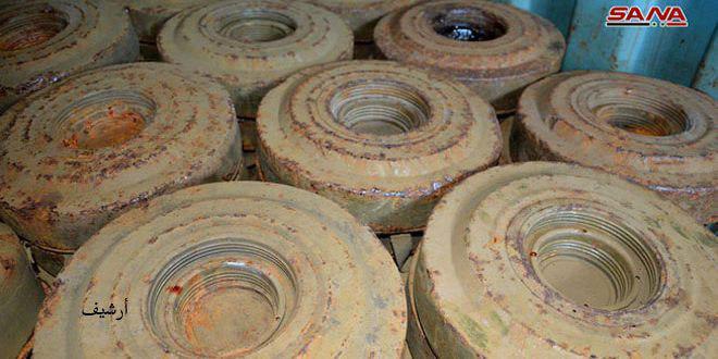 На дороге в Восточной Гуте провинции Дамаск при взрыве придорожной мины террористов погибли 2 женщины, 4 ранены