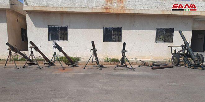На плантациях Кафр-Зейта найдено оружие, оставленное террористической организацией «Джейш Аль-Изза»