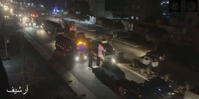 Вашингтон незаконно ввел 150 грузовиков с военным подкреплением для боевиков «Касад» в Хасаке