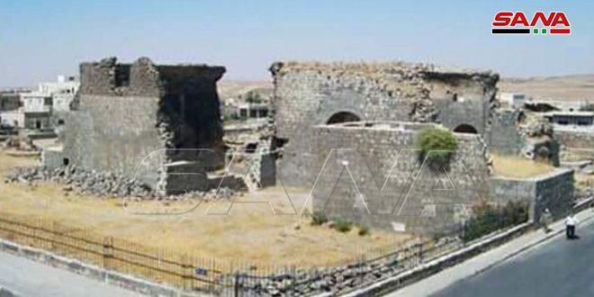 В древнем городе Шахба в провинции Сувейда сирийские археологи обнаружили новые находки