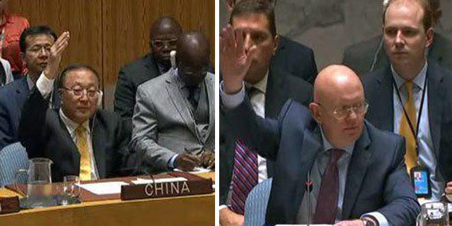 Россия и Китай проголосовали против резолюции, нацеленной на защиту террористов в Идлебе