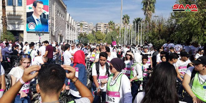 В Сирии стартовал марафон «Ты можешь победить рак»