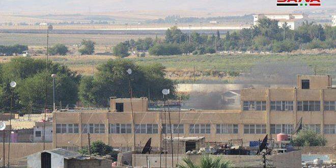 Продолжается турецкая агрессия на территории Сирии