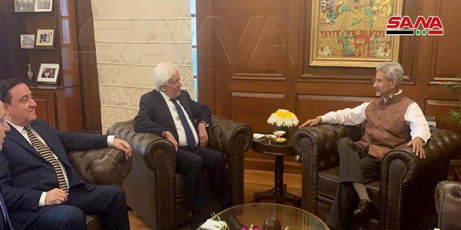 Индия поддерживает Сирию в борьбе с терроризмом и готова внести свой вклад в ее восстановление
