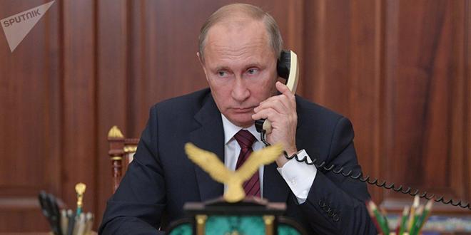 Путин и Макрон обсудили по телефону Сирию и Украину