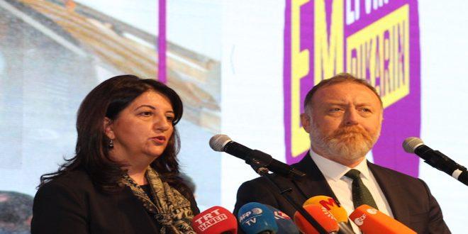 Демократическая партия народов Турции: Эрдоган — враг народов Турции, Сирии и Ирака