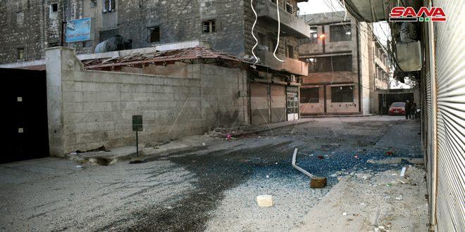 В Алеппо в результате террористического обстрела погиб один человек, еще 9 пострадали