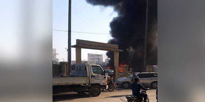 В городе Эль-Баб провинции Алеппо в результате взрыва заминированного автомобиля погибли 15 человек