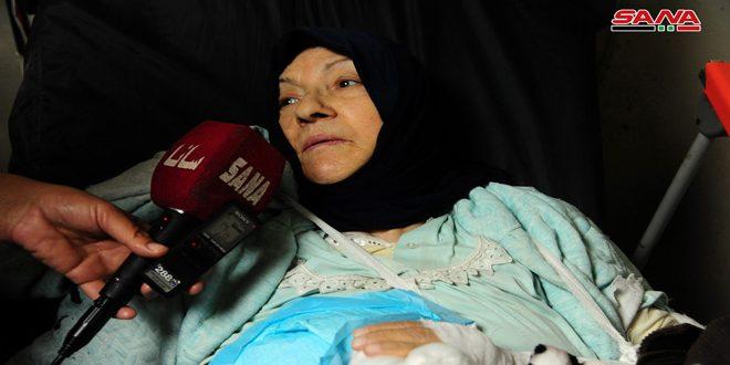 Пострадавшие от израильской агрессии в Дамаске рассказали о случившемся