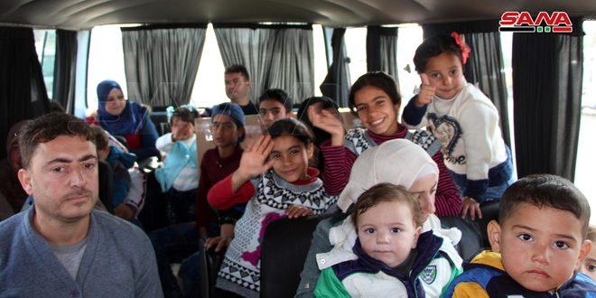 Новая группа сирийских беженцев вернулась на родину из Иордании