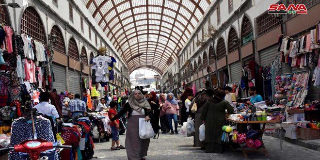 Завершился третий этап восстановления рынка в Старом квартале Хомса