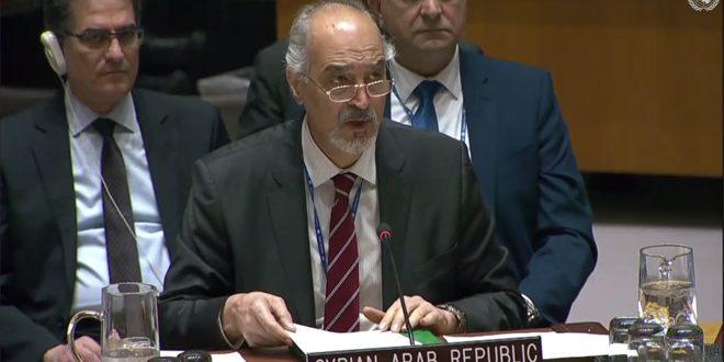Аль-Джафари: Сирия призывает прекратить агрессию турецкого режима и поддержку им терроризма