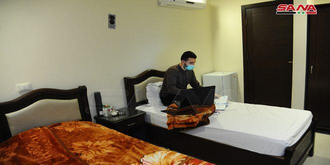 Гостиница под Дамаском переоборудована под карантинный центр из-за угрозы COVID-19