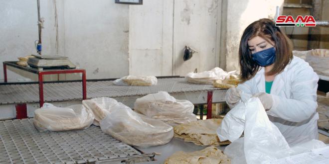 Пекарни города Сувейда ежедневно выпекают 175 тонн хлеба