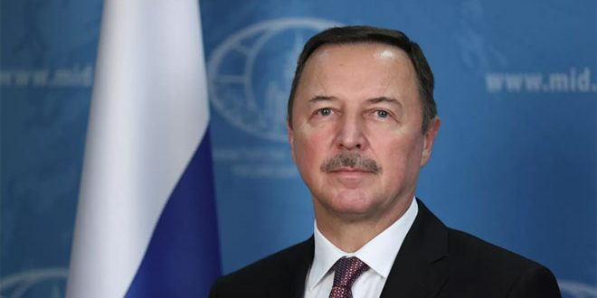 Путин назначил Ефимова спецпредставителем по развитию отношений с Сирией