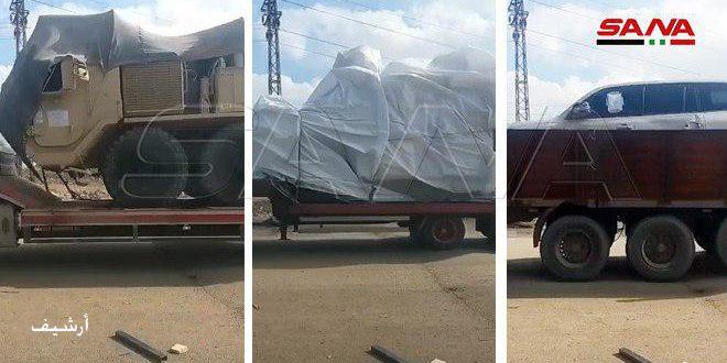 Оккупационные силы США ввели конвой с материально-техническим оборудованием в провинцию Хасаке